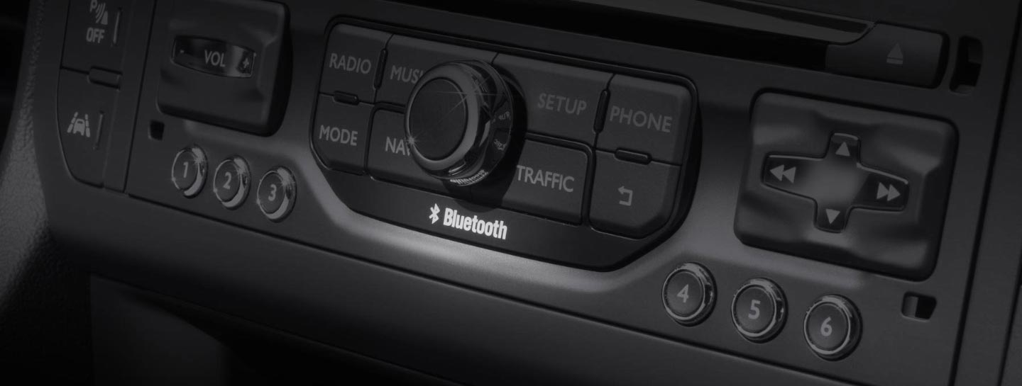 Bluetooth-kompabilitet i en Citroën
